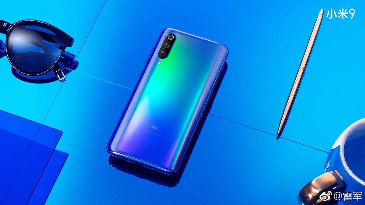 Xiaomi Mi9 fuite massive de visuels et vidéo