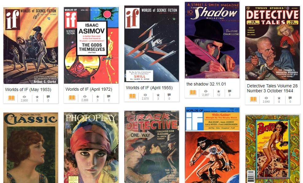 pulp magazines telechargement gratuit