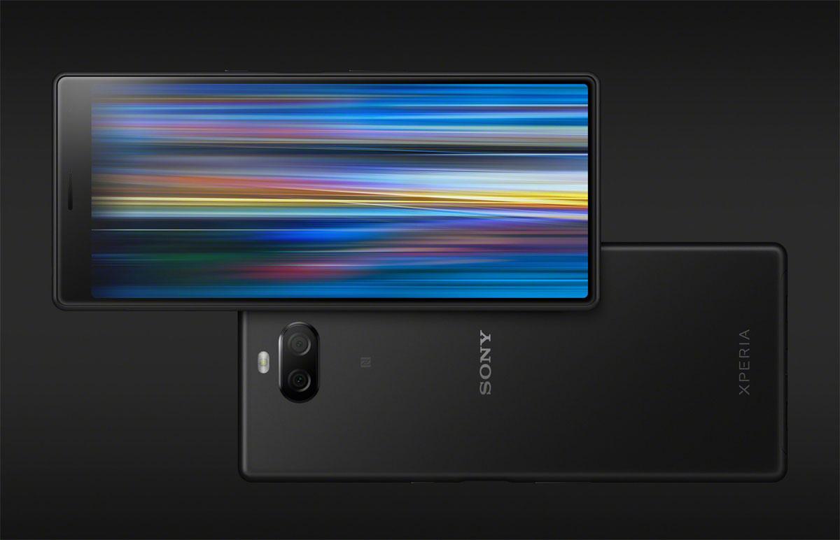 Sony Xperia 10 un nouveau format d'écran