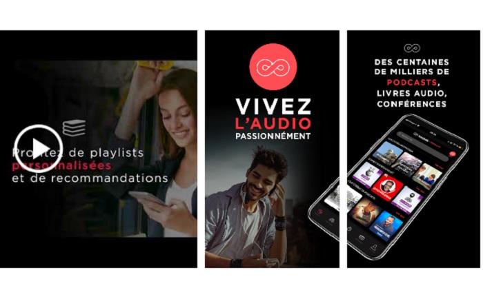 tootak livre audio appli