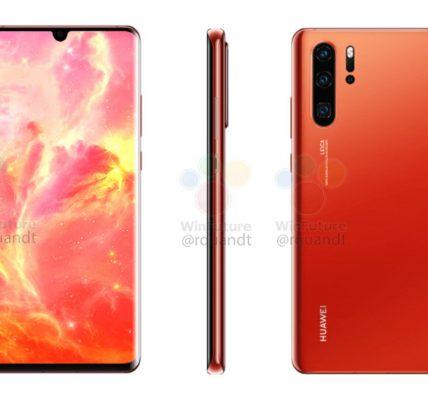 Huawei P30 nouvelle fuite dévoile toutes les spécifications