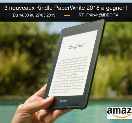 Jeu Amazon Kindle PaperWhite 2018