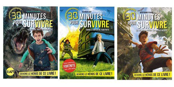 Livres dont vous êtes le héros 30 minutes pour survivre chez Albin Michel
