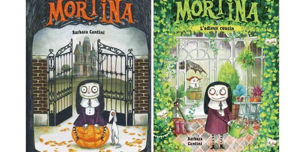 Livres - Mortina une zombie au pays de la famille Adams