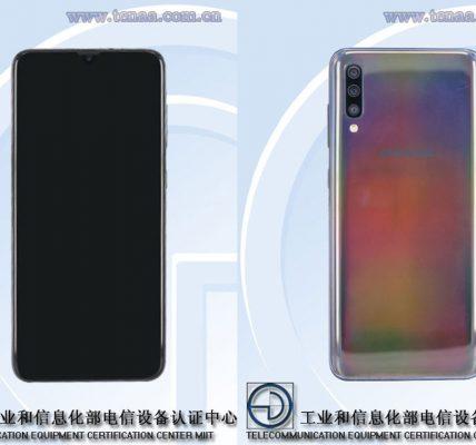 LE sGalaxy A60 et Galaxy A70 passent par le TENAA