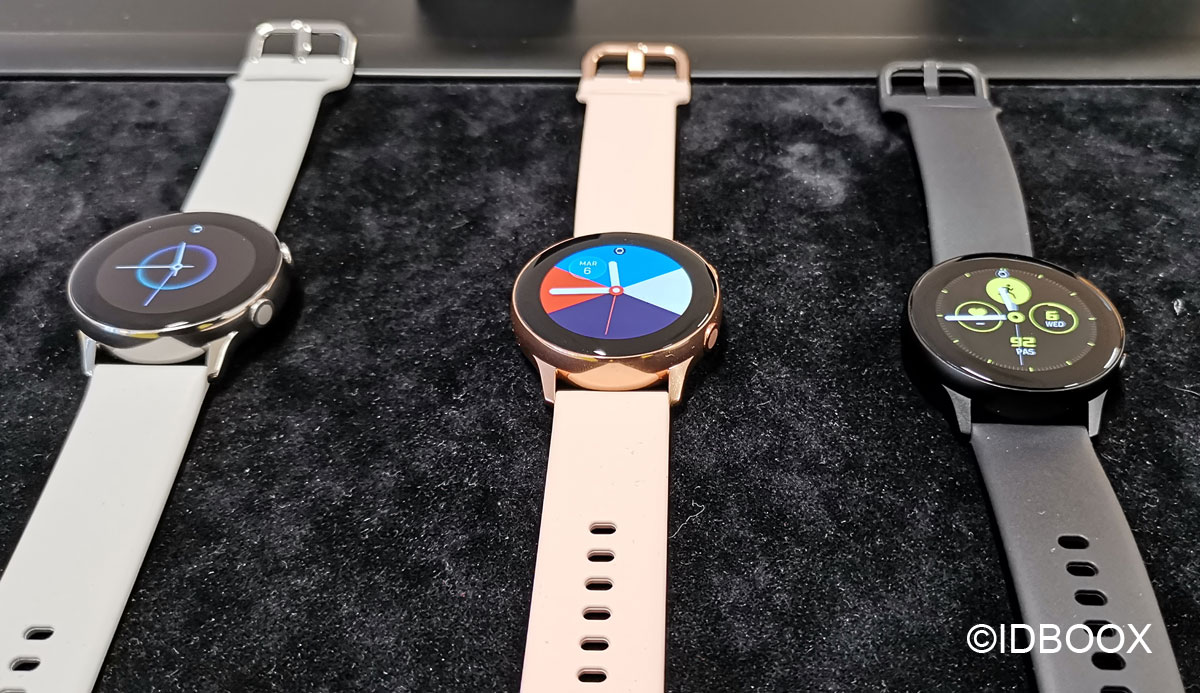 Samsung Galaxy Watch Active découverte en vidéo