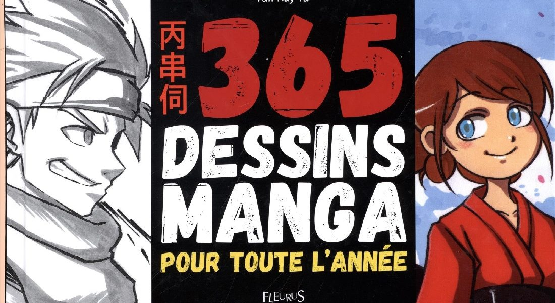 365 Dessins Manga Apprends A Les Dessiner En 4 Etapes Idboox