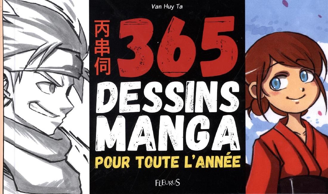 365 Dessins Manga Apprends A Les Dessiner En 4 Etapes Idboox