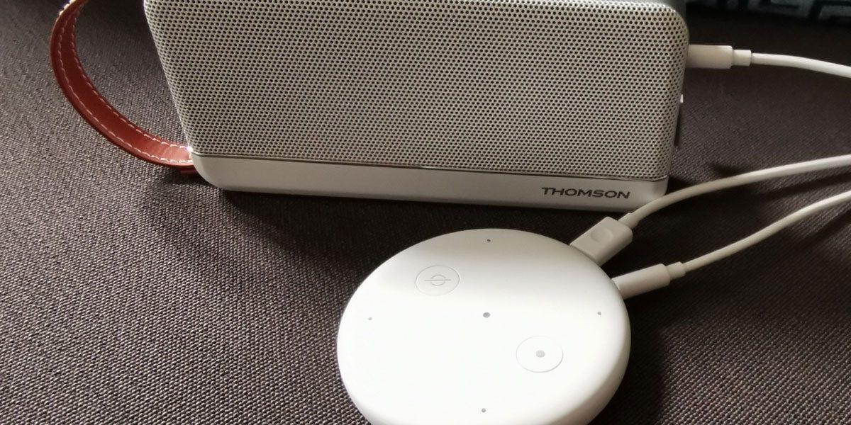 Amazon Echo Input Test de Alexa