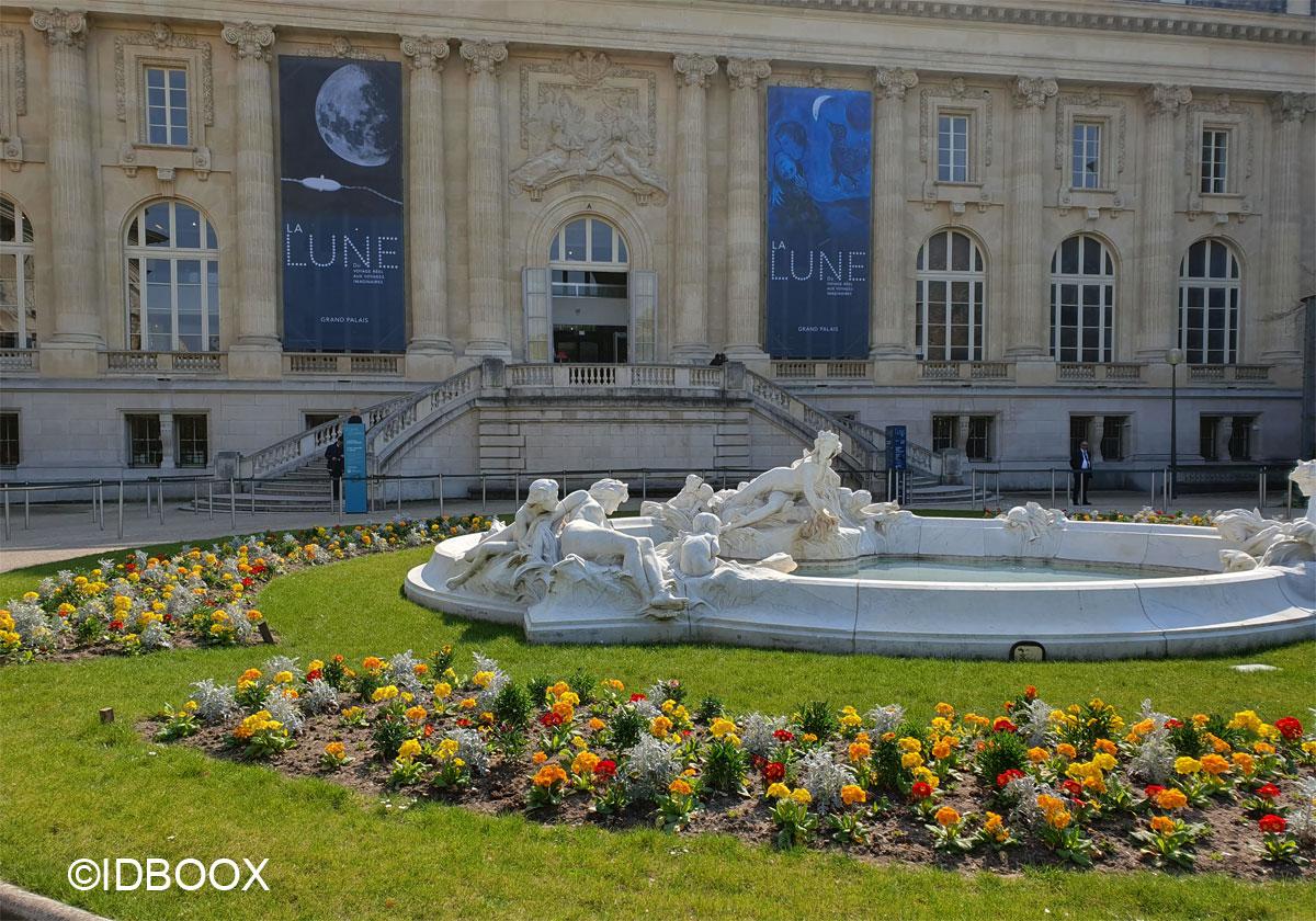 Expo La Lune au Grand Palais