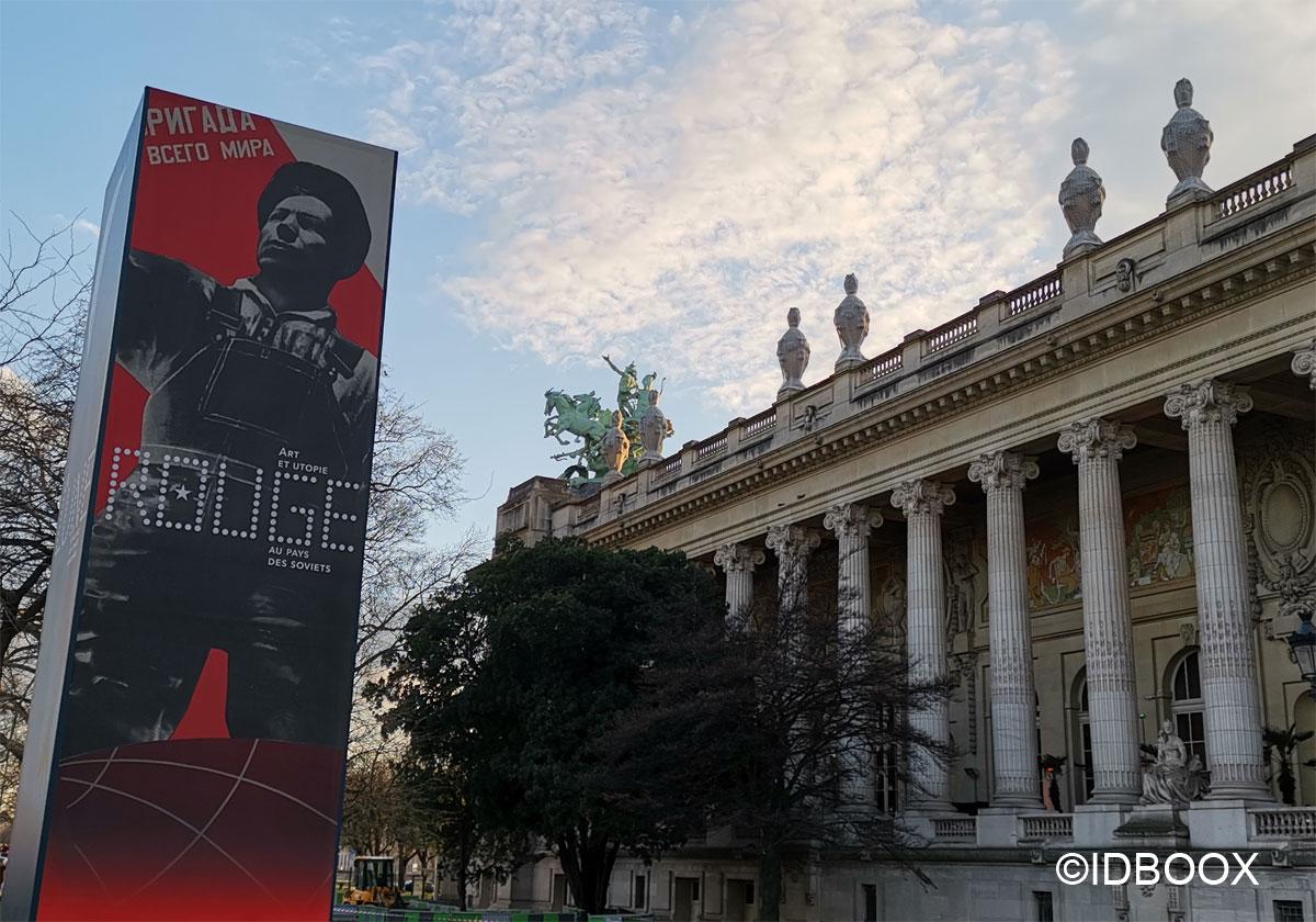 Expo Rouge au Grand Palais