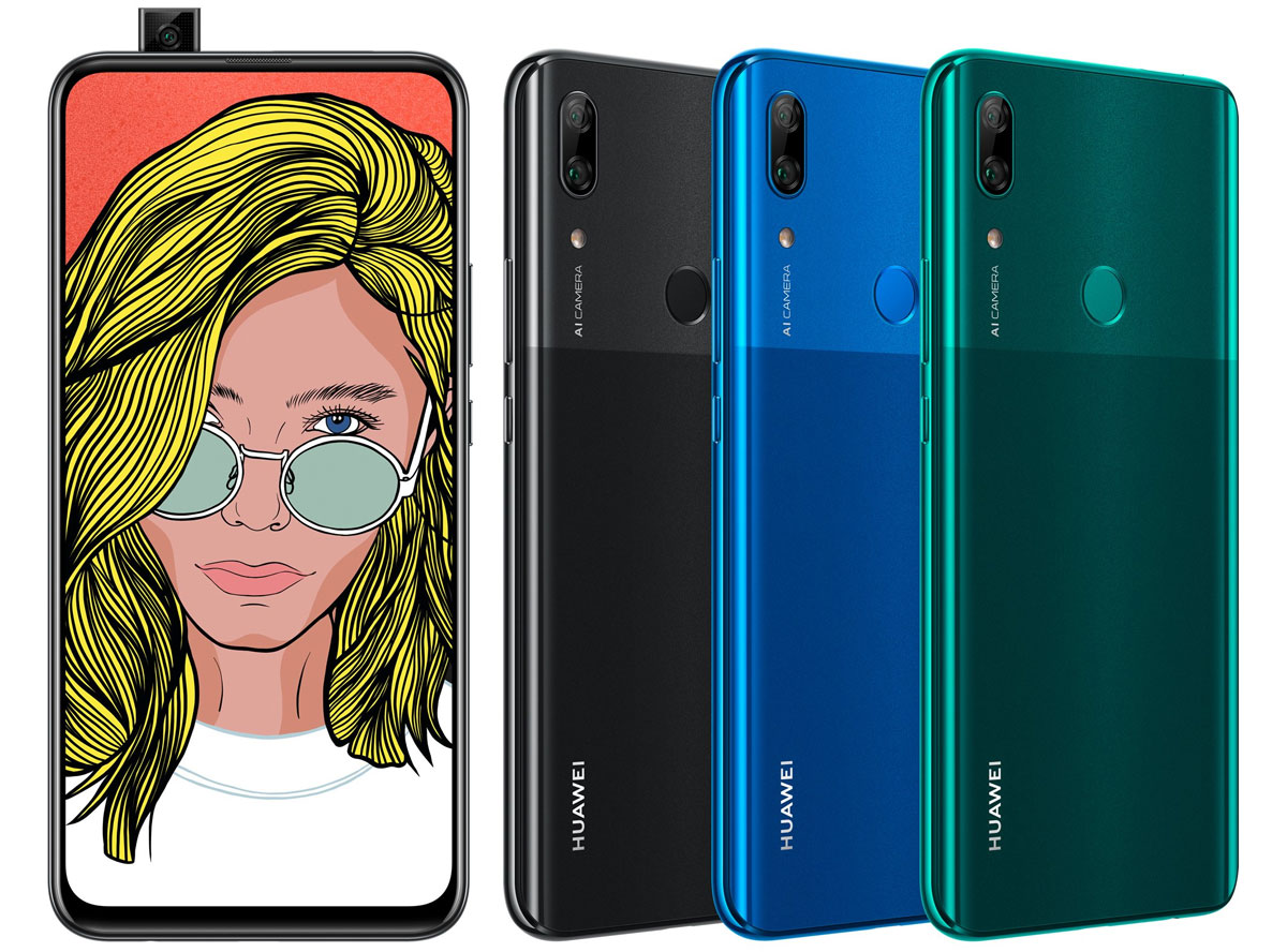 Huawei P Smart Z avec caméra pop up