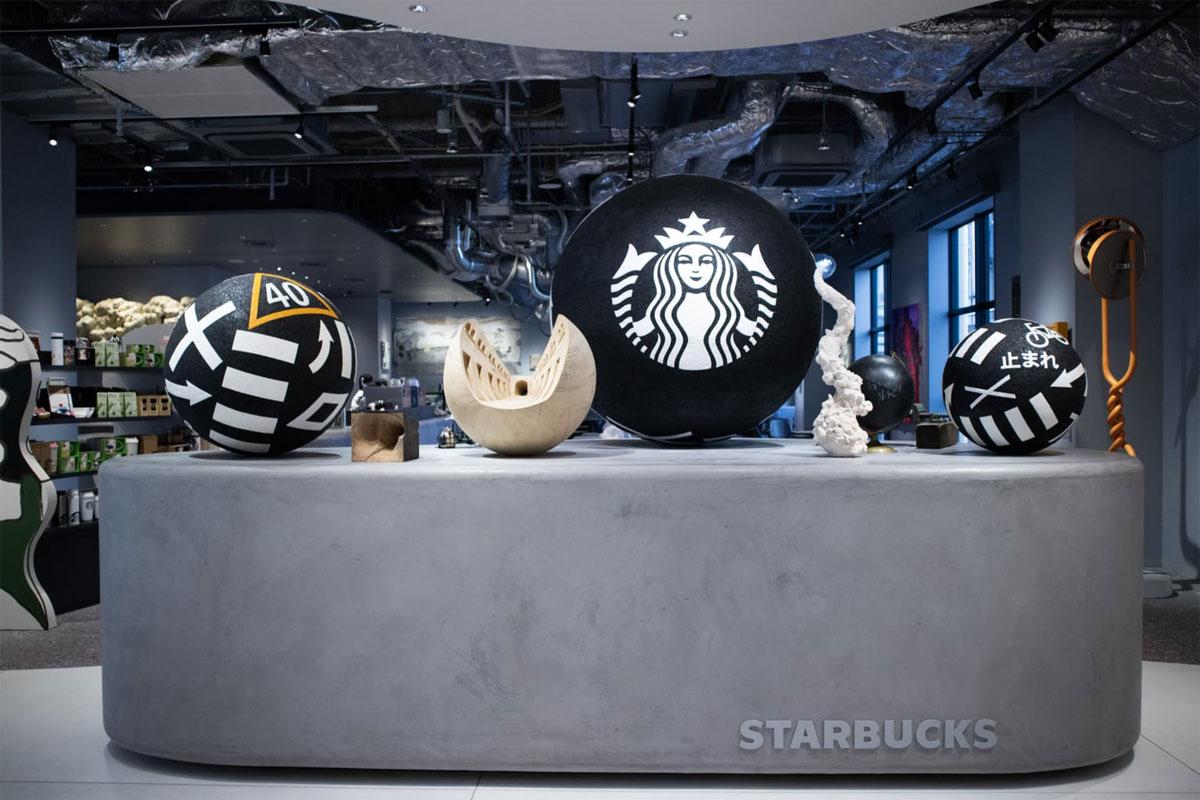 Japon un Starbucks se transforme en galerie d'art