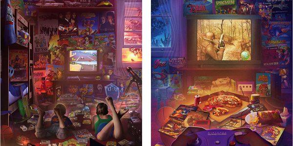 Jeux vidéo plongée dans les années 90