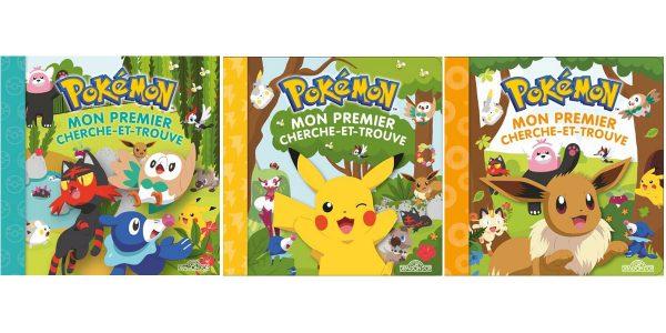 Livre enfant Pokemon Mon premier cherche et trouve