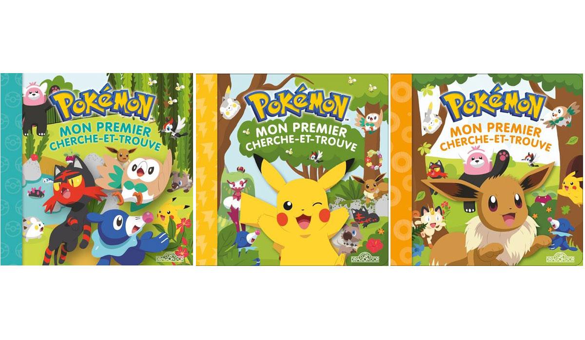 Livre enfants Pokémon Mon premier cherche et trouve