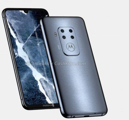 Motorola passe aux smartphones avec 4 caméras