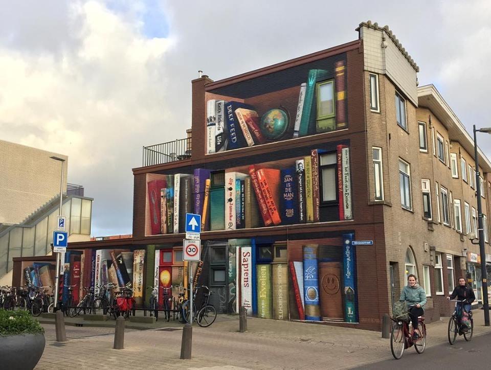 bibliotheque utrecht street art