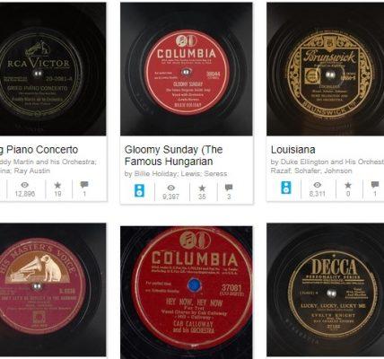 disques 78 tours numerique gratuit