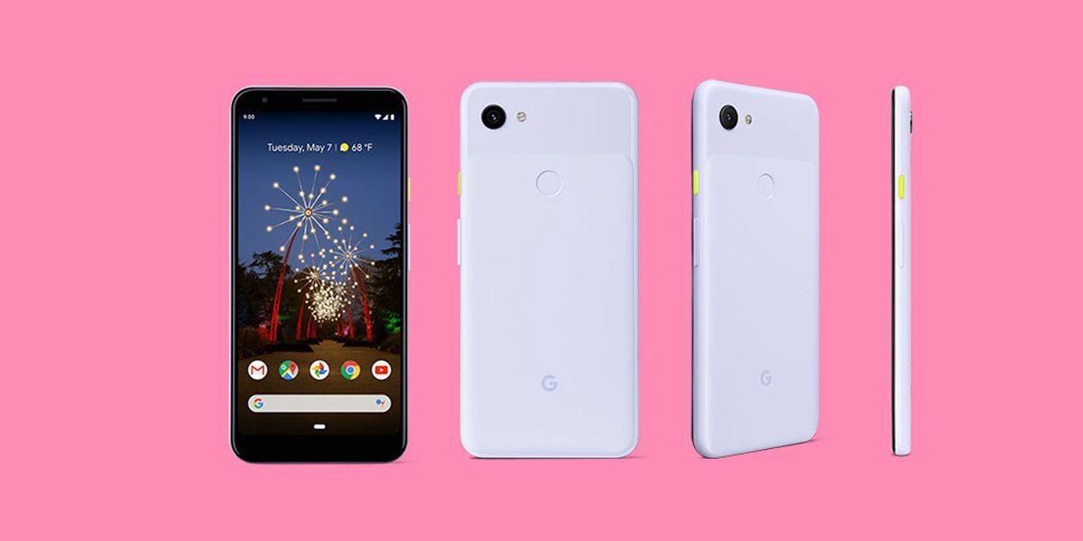Google Pixel 3a et Pixel 3a XL toutes les couleurs et lesspécifications