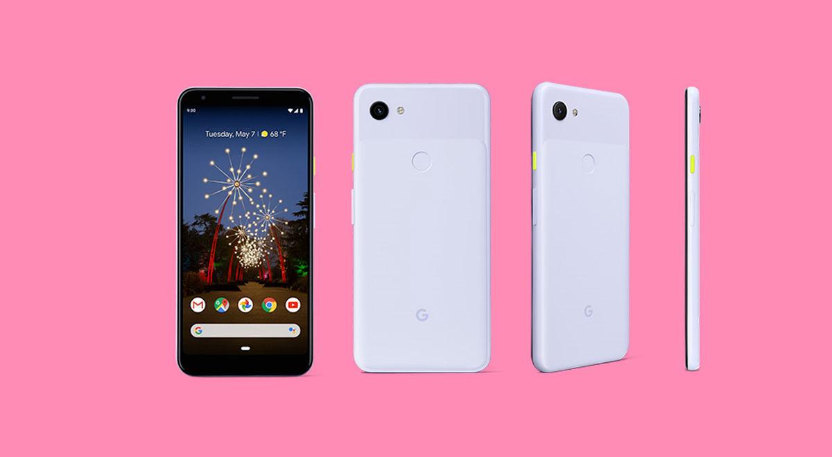 Google Pixel 3a et Pixel 3a XL toutes les couleurs et les spécifications