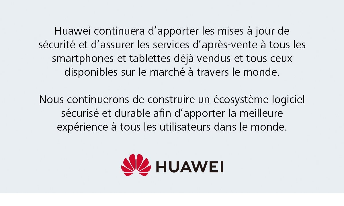 Huawei android reponse