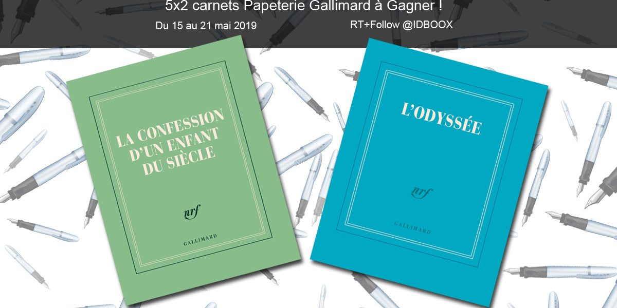 Jeu Papeterie Gallimard