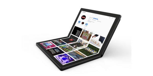 Lenovo ThinkPad X1 un écran pliable de 13 pouces