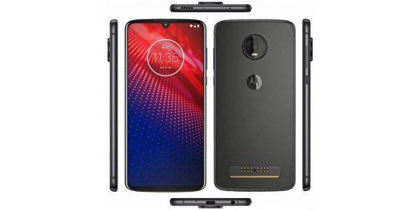 Motorola Moto Z4 un nouveau visuel