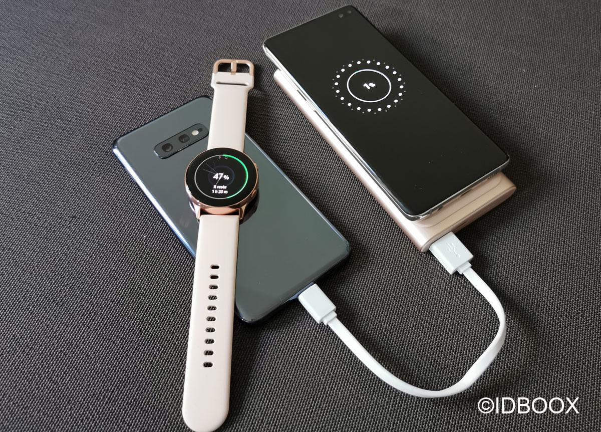 Test Samsung Batterie externe 1000mAh recharge sans fil