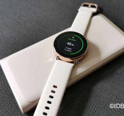 Samsung Galaxy Watch active 2 des fonctions santé