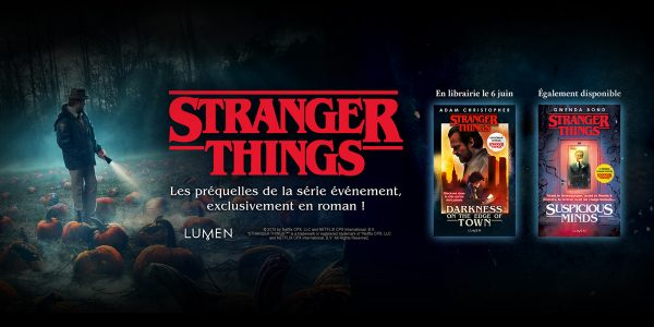 Stranger Things Livres Lumen