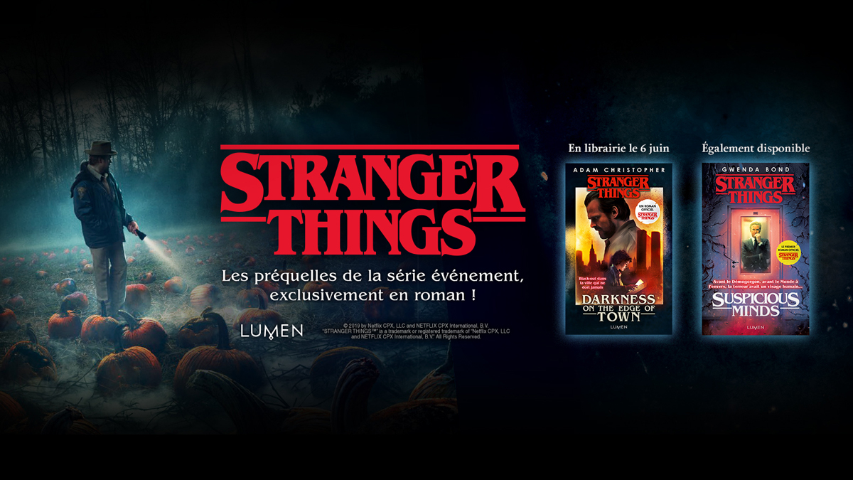 Stranger Things Livres Lumen