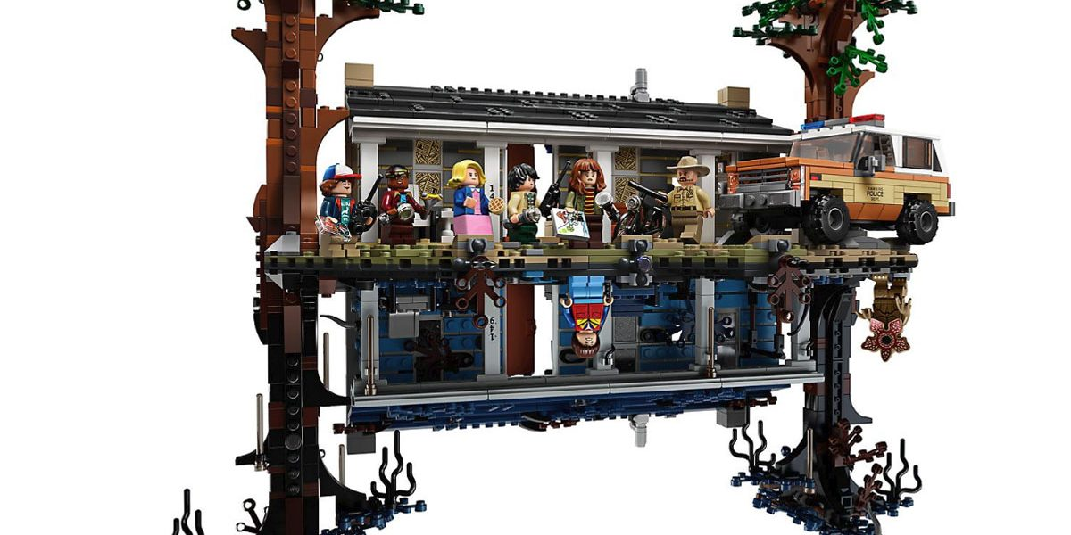 Stranger Things un set LEGO du monde à l'envers