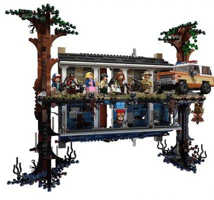 Stranger Things un set LEGO du monde à l'envers