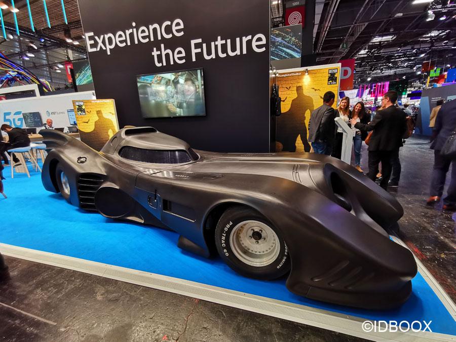 La Batmobile pour les 80 ans de Batman