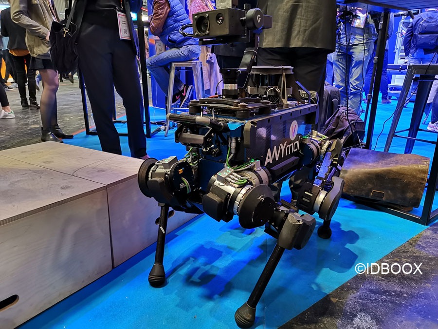 Le robot chien de Any Botics