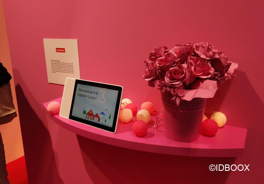 Google Assistant et Lenovo Smart Display