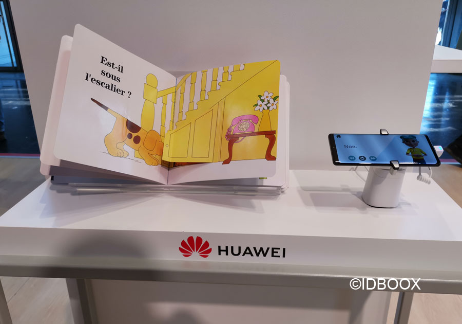 Vivatech 2019 Huawei StorySign