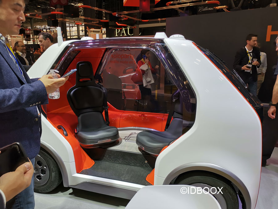 Voiture autonome Renault