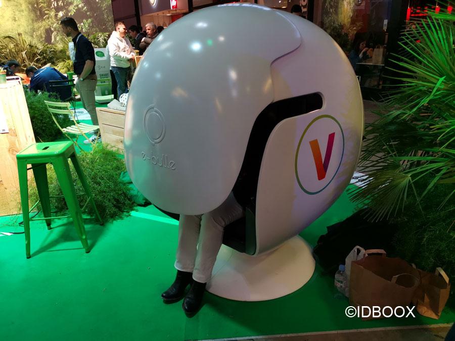 Vivatech 2019 Un peu de calme dans la bulle de travail connectée eBulle
