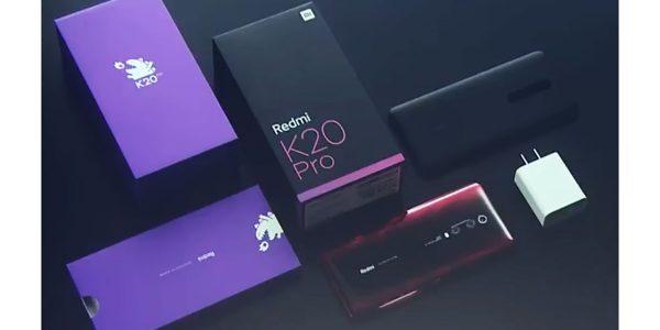 Xiaomi Redmi K20 et K20 Pro officiels