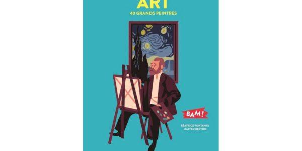 art 40 grands peintres livre enfant