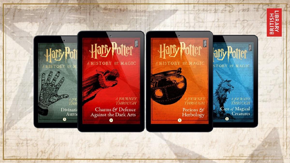 Ebooks Harry Potter 4 Nouveaux Livres Exclusifs Idboox