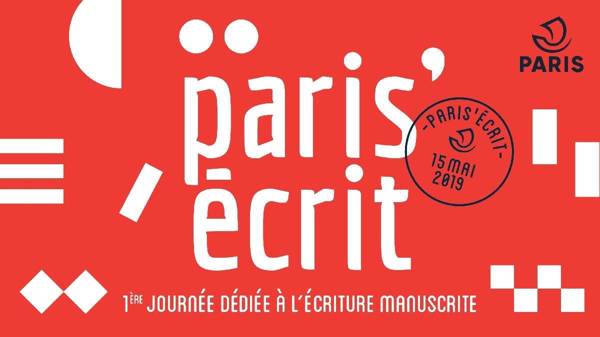 paris'ecrit ecriture manuscrite paris