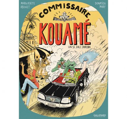 BD - Commissaire Kouamé Un si joli jardin