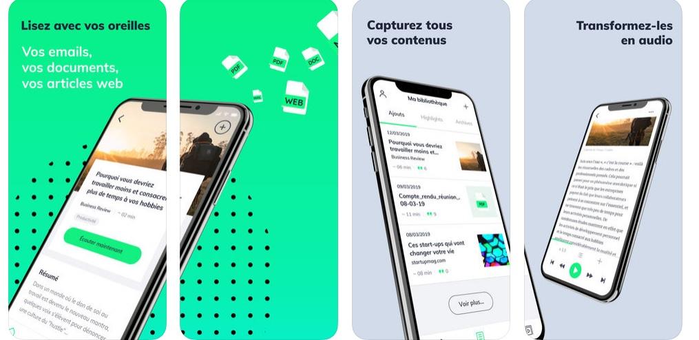 Elocance appli audio