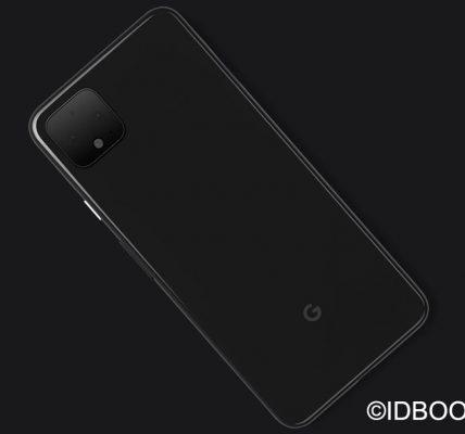 Google Pixel 4 visuel officiel