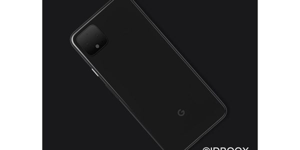 Google Pixel 4 visuel officiel