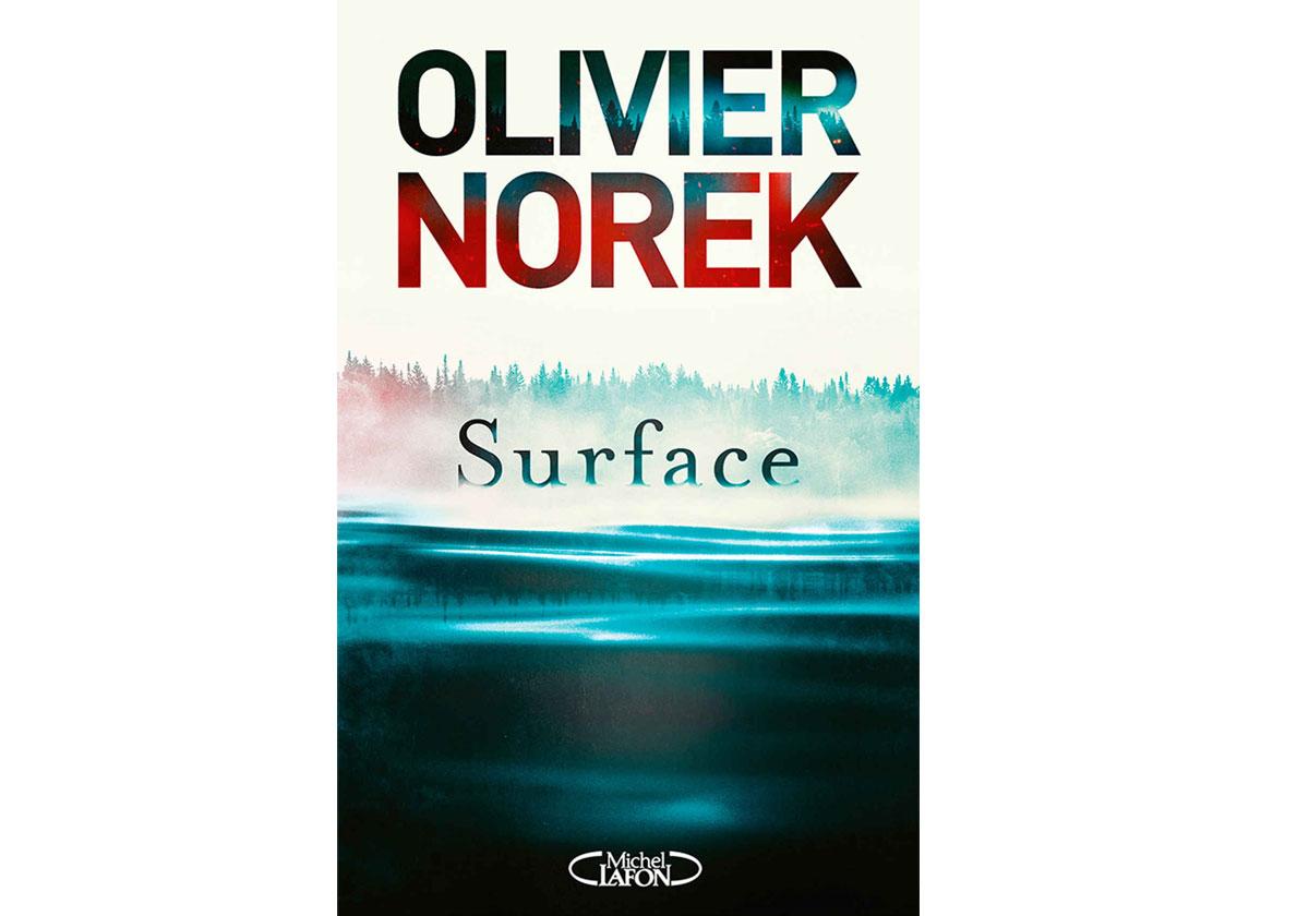 olivier norek surface livre Prix Relay des Voyageurs